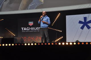 The startups had five minutes to convince the jury