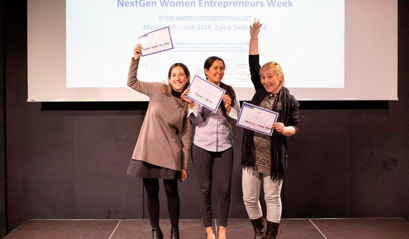 Next Gen Women final Pitch Contest (2019)